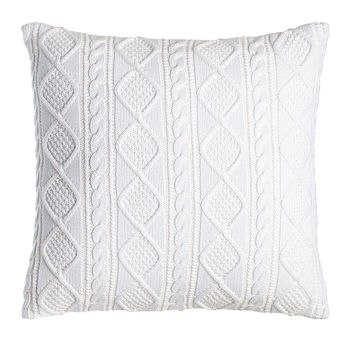"Judson Cable-Knit Pillow, 20""Sq. - Ralph Lauren"