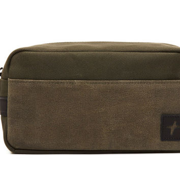 Dylan Dopp Kit - Olive – Premium Accessories Handmade in the USA