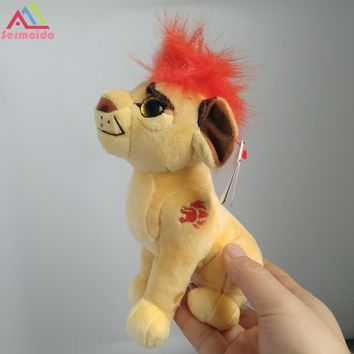 sermoido 6'' The Lion Guard Kion Beshte Hippo Fuli Cheetah Bunga Honey Badger Ty Sparkle Plush Toys Stuffed Animals DBP114