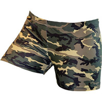 GemGear Army Green Camo Volleyball Spandex Short - Volleyball.Com