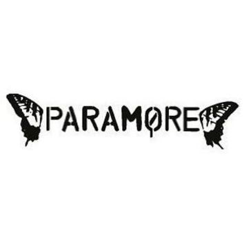 "(2x) 9"" Paramore Sticker Vinyl Decals Die Cut Logo"