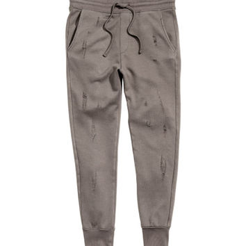 Joggers Trashed - from H&M