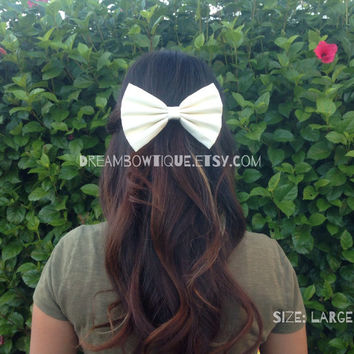 Look For Hair Bow Size Display