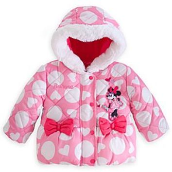 599cff781 Minnie Mouse Puffy Jacket for Baby - Personalizable | Disney Store
