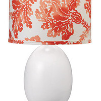 Jamie Young Lighting Lamp Base Small White Egg