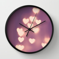 Your Love is Electrifying Wall Clock by Beth - Paper Angels Photography