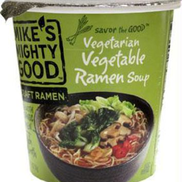 Mikes Mighty Good: Vegetarian Vegetable Ramen Noodle Soup, 1.9 Oz