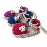 Pattern Crochet Baby Espadrille N.103 by Beatifico - Craftsy