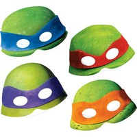 Teenage Mutant Ninja Turtles Mask 4ct