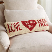 LOVE IS ALL YOU NEED BOLSTER         -                  Festive Decor & Gifts         -                  Online Only         -                  Furniture & Decor                       | Robert Redford's Sundance Catalog