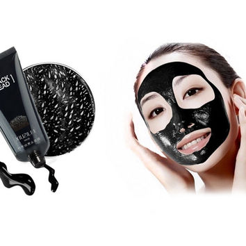 Masks to remove blackheads Black head pilaten gold crystal collagen Facial face mask Skin Care remove blackheads Acne black mud