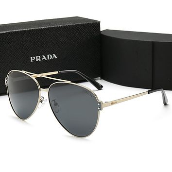 PRADA Trending Women Men Stylish Summer Sun Shades Eyeglasses Glasses Sunglasses