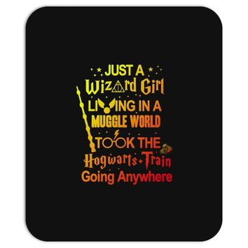 Just A Wizard Girl Living In A Muggle World Mousepad