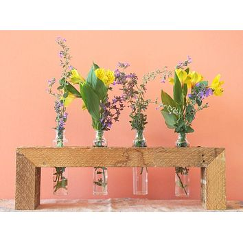 Unique Decor : Reclaimed Wood Vase