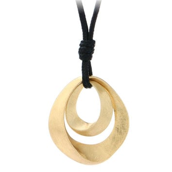 New Simple Luxury Jewelry Black Leather Long Necklace Women Alloy Wire Drawing Double Water Drop Pendant Necklace Friend Bijoux