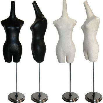 MN-601 Ladies Dress Form with Long Neck Hat Display