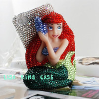 Bling rhinestone 3D iphone 4 case iphone 4s case iphone 5 case samsung Galaxy S3 case