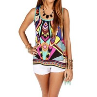 Multi-Color Urban Tank Top