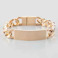 Rastaclat Familia Bracelet Gold One Size For Men 25463462101