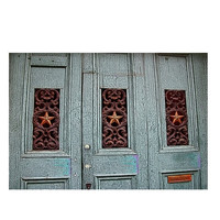 New Orleans Architecture Fine Art, Stars in Iron, French Quarter Door Print, Ready to Frame 4x6 Art Print