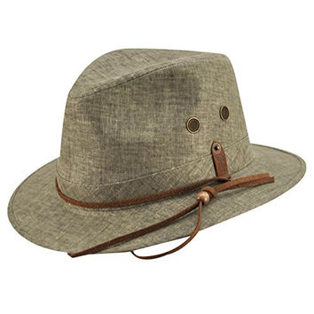 Bailey Of Hollywood Mens Tarkett Hat Olive L