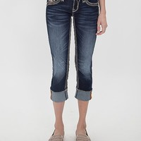 Rock Revival Sorrel Cropped Stretch Jean