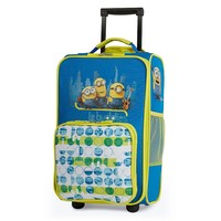 Despicable Me Minions ''Le Buddies'' Wheeled Luggage Case by Travelpro - Kids (Blue)