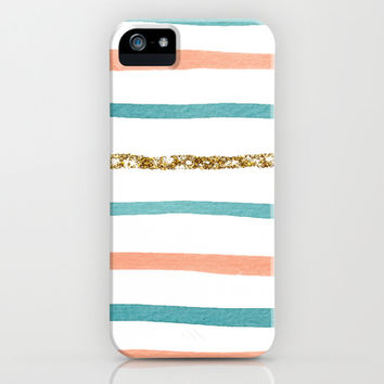 Sparkle Stripe iPhone & iPod Case by Social Proper