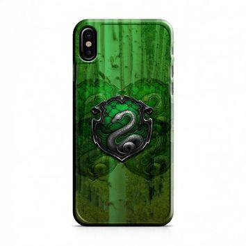 Harry Potter Slytherin iPhone X Case