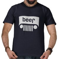 Jeep beer shirts from Zazzle.com