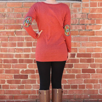 Taos Tunic in Rust