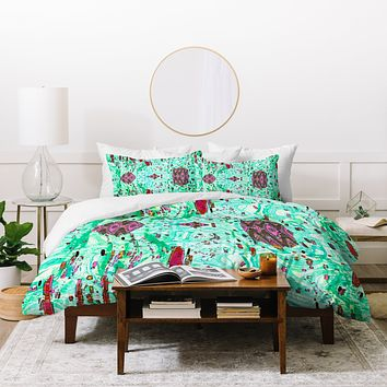 Ingrid Padilla Ornament Duvet Cover