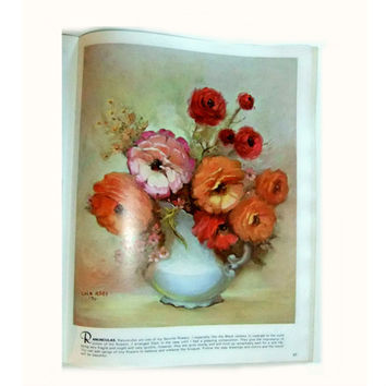 Vintage Collectors Book Walter Foster Library How to Paint Roses Full Color Plates Illustrations 1986 Reference for Artists Frameable Art