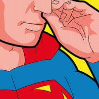 The secret life of heroes - Super bogies Art Print by Greg-guillemin