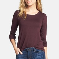Women's Feel the Piece 'Toni' Zip Back Long Sleeve Tee