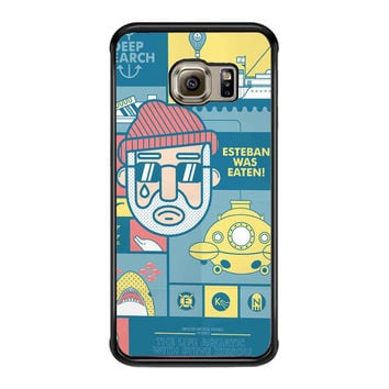 The Life Aquatic with Steve Zissou b1c0f426-df0e-4ca7-b198-c94869eafec1 FOR SAMSUNG GALAXY S6 EDGE CASE**AP*
