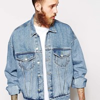 ASOS | ASOS Oversized Denim Jacket at ASOS