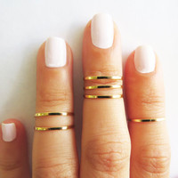 Fashion Gold Rings