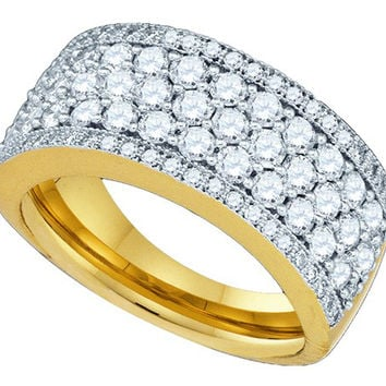 Diamond Fashion Band in 14k Gold 1.65 ctw