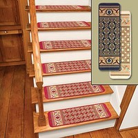 Ivory Rug Carpet Stair Treads Set Of 12 CTS12I