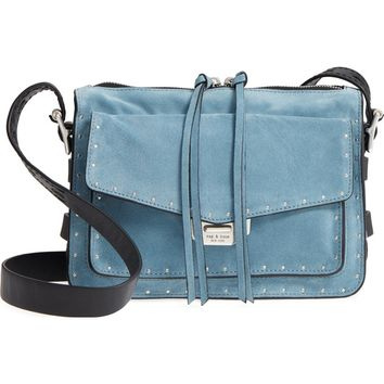 rag & bone Small Field Suede Messenger Bag | Nordstrom