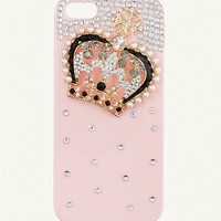 Pave Crown iPhone 5 Case