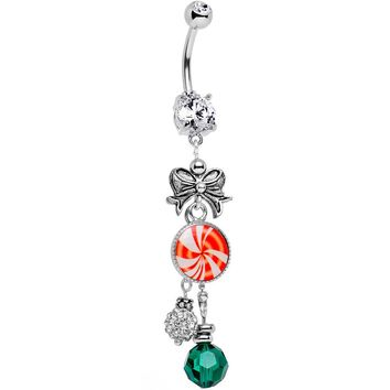 Handcrafted Holiday Delights Dangle Belly Ring
