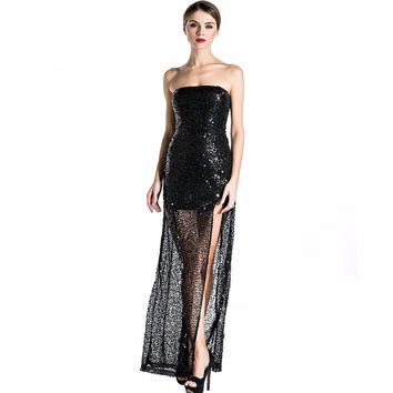 Ginny Sequin Maxi Dress