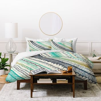 RosebudStudio Boho Fall Duvet Cover