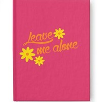 Leave Me Alone Journal