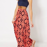 Neon Aztec Belted Maxi Dress | Maxi Dresses | rue21