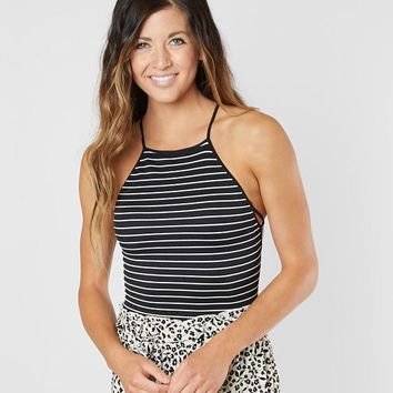 Free People New Dawn Striped Tank Top - Women's Tank Tops in Black White Combo | Buckle