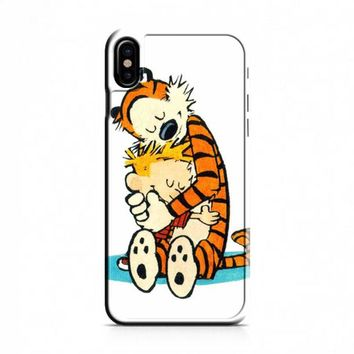 Calvin and Hobbes sweet iPhone X Case