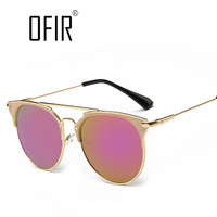 Fashion Retro Round Cat Eye Sunglasses Men Women Designer Eyewear Metal Frame UV400 Glasses oculos de sol lunette de soleil